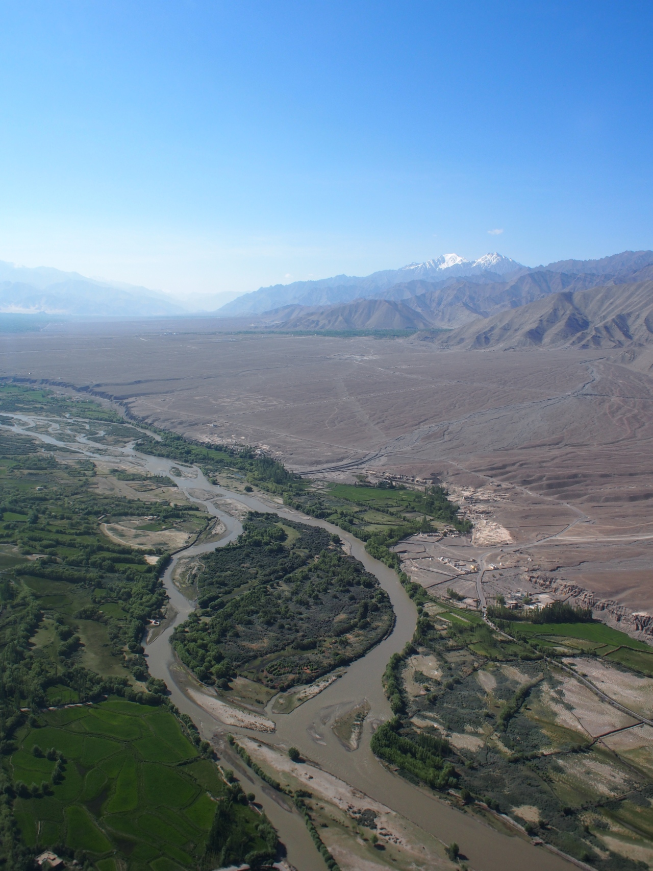 Indus starts in the Himalayas and is one of the three rivers where humanity created a civilisation.